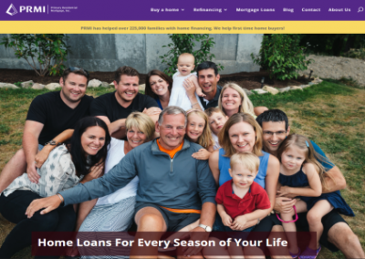 Primary Residential Mortgage NorCal Website