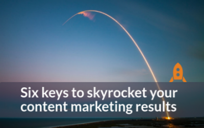 Six ways to skyrocket your Content Marketing results